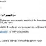 Spam email made to look like it came from Apple