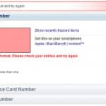 Invalid Tracking Number Confirmation