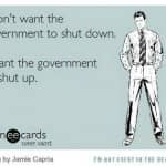 The U.S. Government has shutdown…