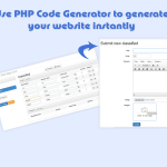 PCG – PHP Code Generator for CodeIgniter